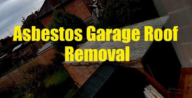 Asbestos Garage Roof Removal London
