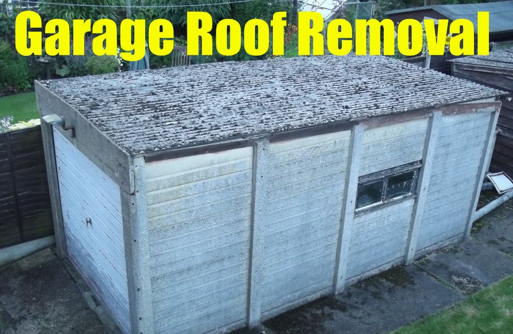 Single Garage Roof Removal London