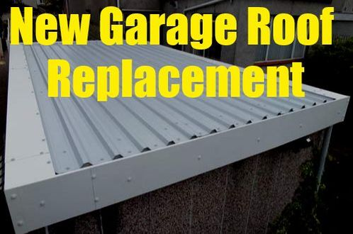 Garage Roof Replacement London